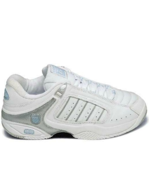 K-Swiss Ladies Defier RS – White_Silv_Blue