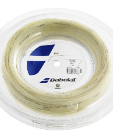 Babolat Xcel Strings 17 - Natural - 200m Reel