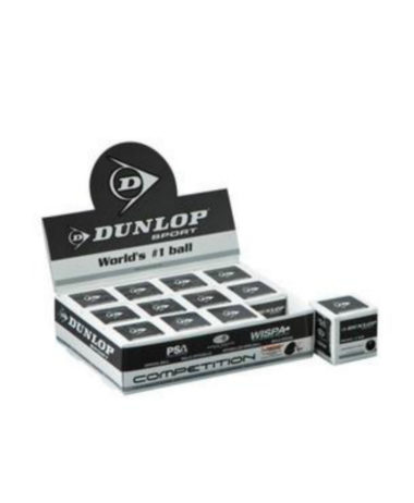 Dunlop comp 1 ball box (Single Yellow dot)