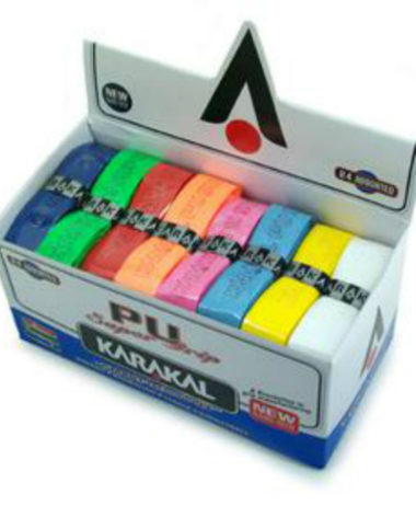 Karakal PU Super Grip Assorted - Box of 24 Grips