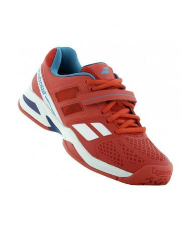 red Babolat shoe shopping (1)