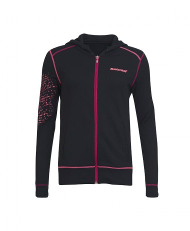 Babolat girls match performance tennis hoodie jacket