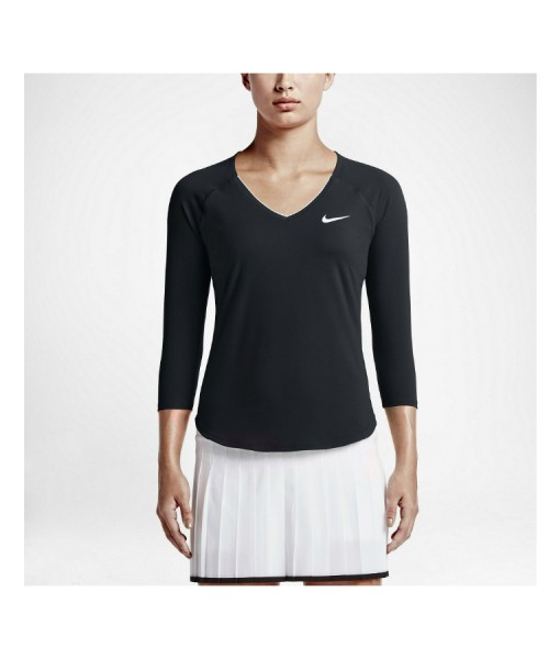 Nike Ladies Pure Tennis Top model shot