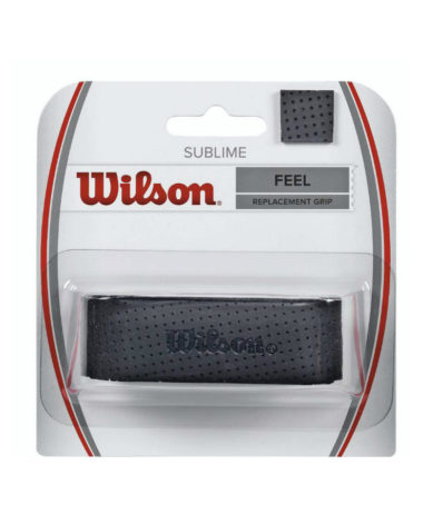 Wilson Sublime Replacement Grip - Black tennis