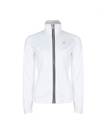Poivre Blanc white tennis jacket