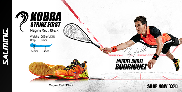 Salming Kobra Strike Squash Shoe