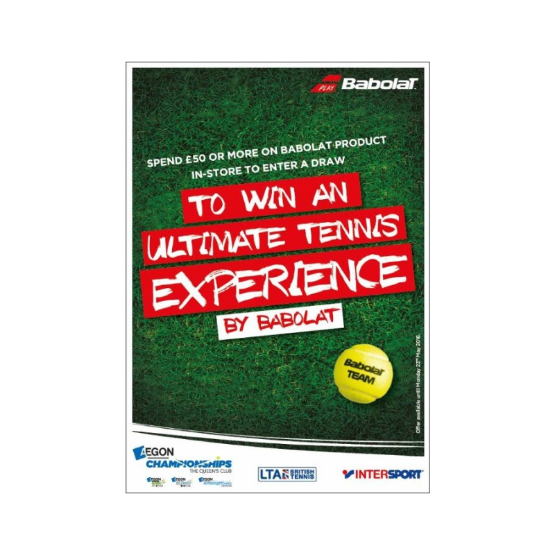 Babolat Ultimate Tennis Experience - Aegon Tennis Championships competition