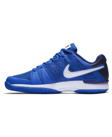 Nike Air Vapor Advantage blue tennis shoe