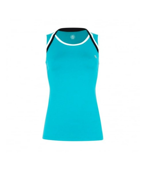 Poivre Blanc Ladies Tennis  tank Lake