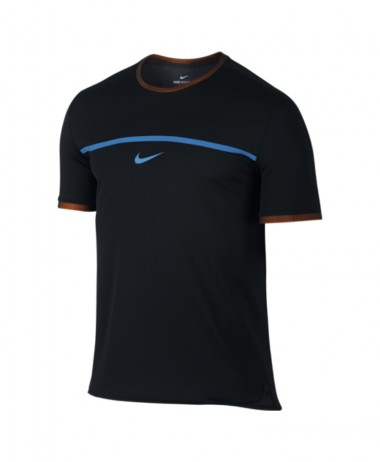 Nike Mens Rafa Challenger Top - Black