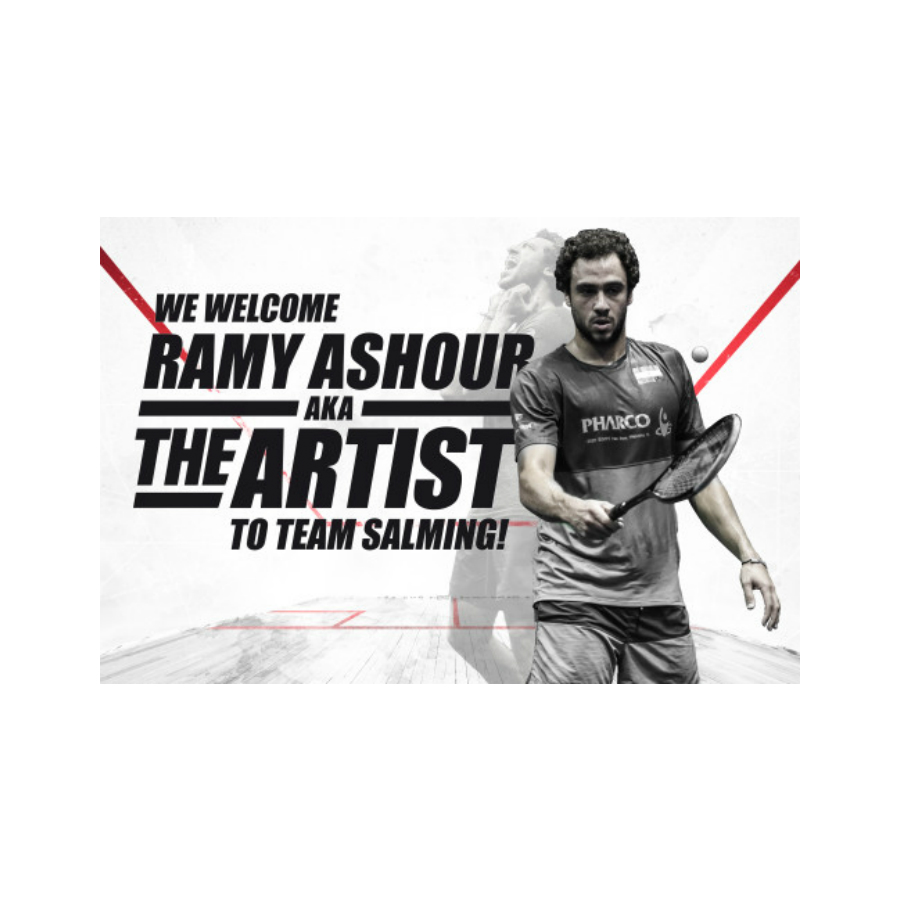 Legendary No 1 Squash Player Ramy Ashour Signs With