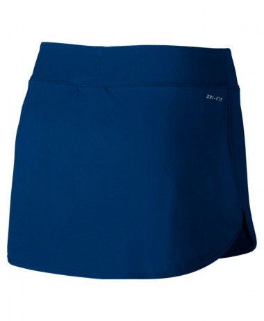 Nike ladies pure tennis skirt blue