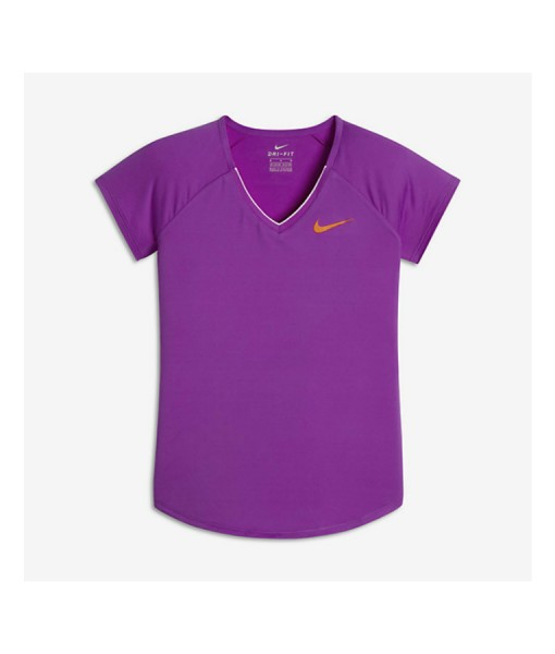 Nike girls purple top