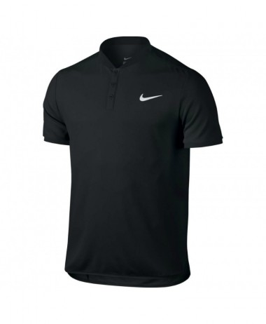 nikecourt Black tennis Polo