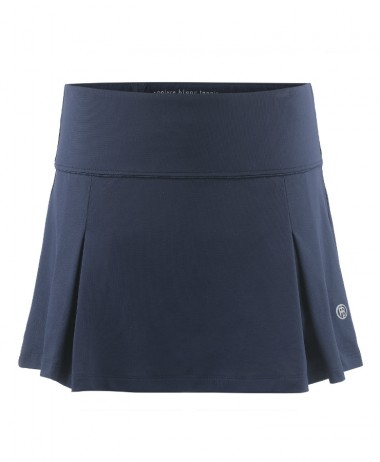 Poivre Blanc Ladies Tennis Skirt Navy