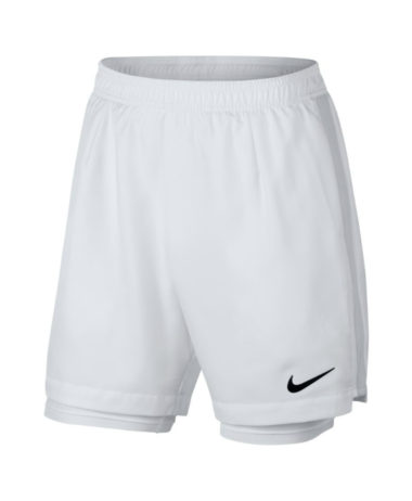 Nike NikeCourt Dry Tennis Shorts - white