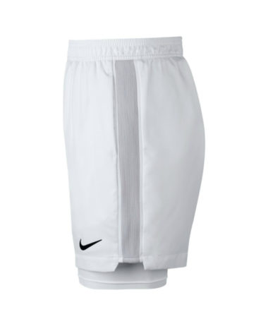 Nike Nikecourt Dry Tennis Shorts 2017 - white