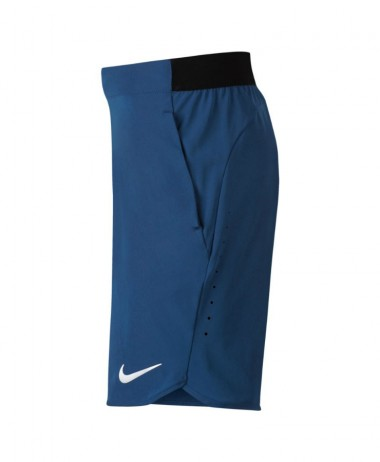 Nike boys flex Ace tennis shorts blue