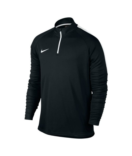 NIKE MENS ACADEMY LONG SLEEVE TOP Black - Tennis - Pure ...
