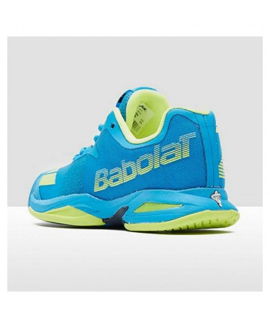 bABOLAT JET ALL COURT TENNIS JUNIOR SHOE