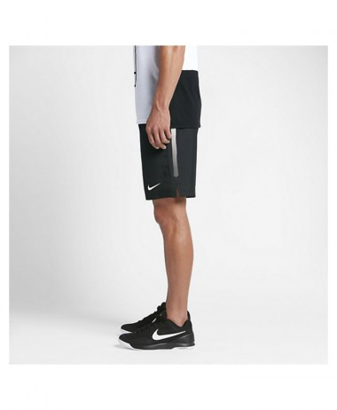 Nike Mens Nikecourt black tennis shorts