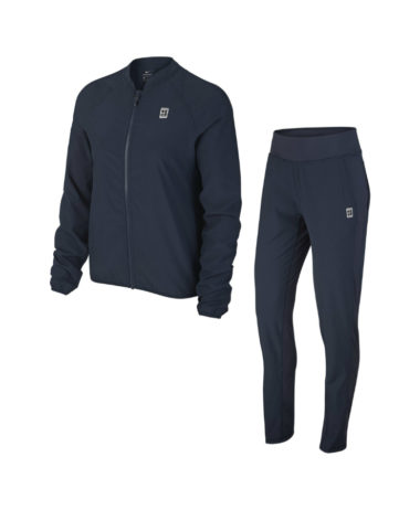 Nike ladies warm up tennis suit Blue