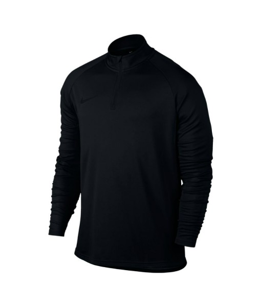 Nike mens academy long sleeve tennis top black