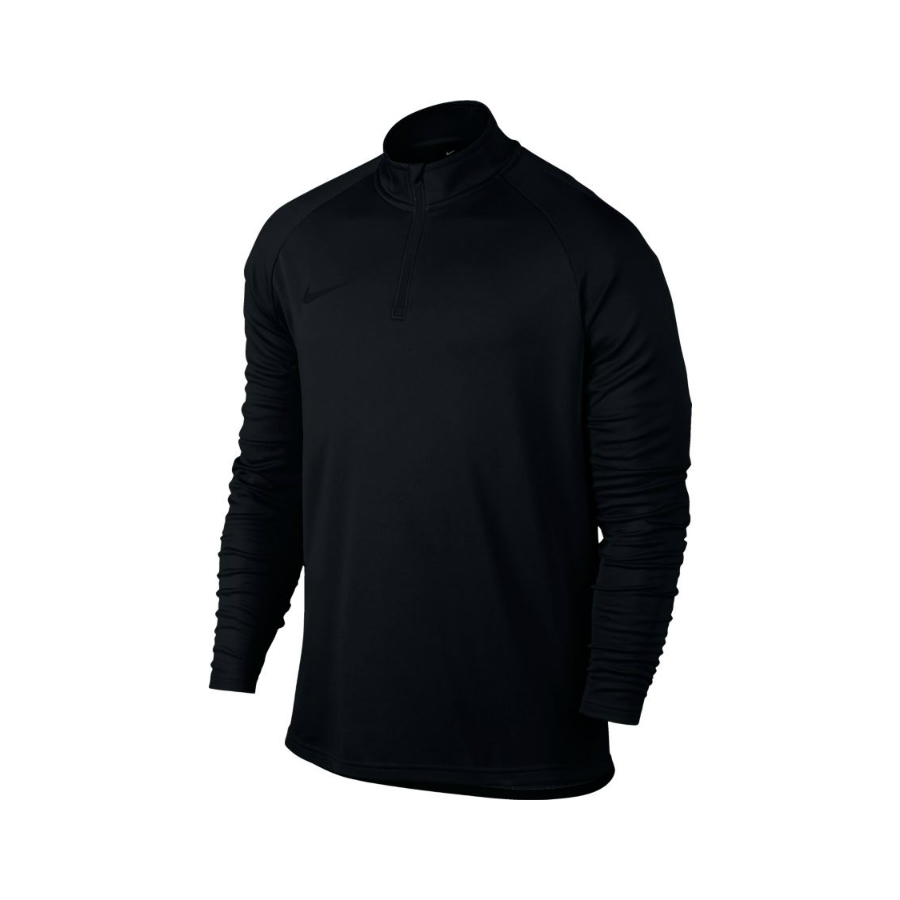 NIKE MENS ACADEMY LONG SLEEVE TENNIS TOP - Black - Pure ...