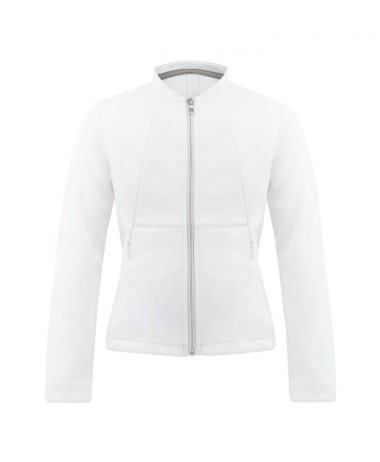 Poivre Blanc White ladies tennis jacket