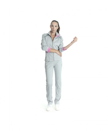 Poivre Blanc ladies tennis jacket grey