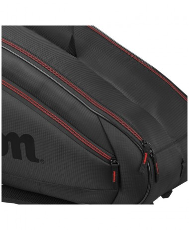 Wilson Federer Racket Bag Black