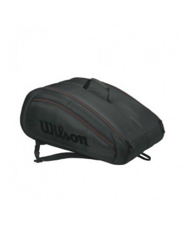 Wilson Federer team Racket Bag black
