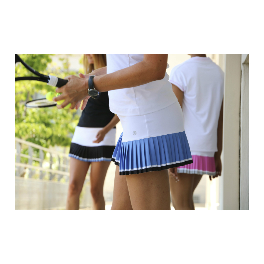 Poivre Blanc Ladies Tennis Skirt