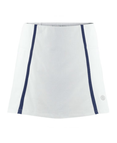 Poivre Blanc Ladies tennis skort white