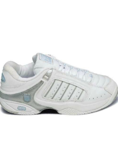 K-Swiss Ladies Defier RS - White_Silv_Blue