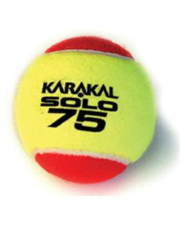 karakal solo 75 mini red tennis ball