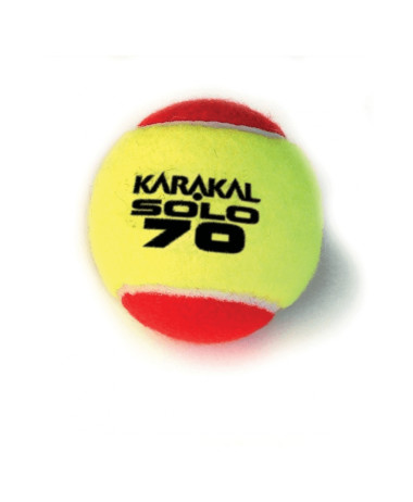 karakal Solo Mini Red Tennis Ball