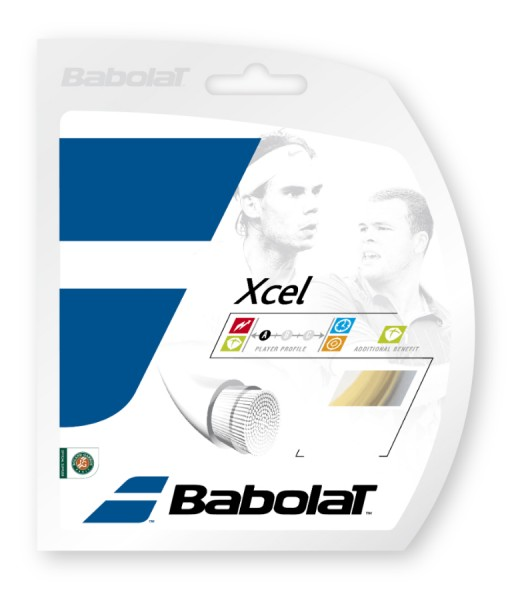 Babolat Xcel Strings 16 – Natural