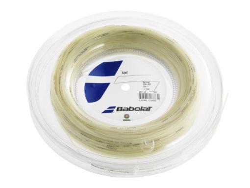 Babolat Xcel Strings 17 – Natural – 200m Reel