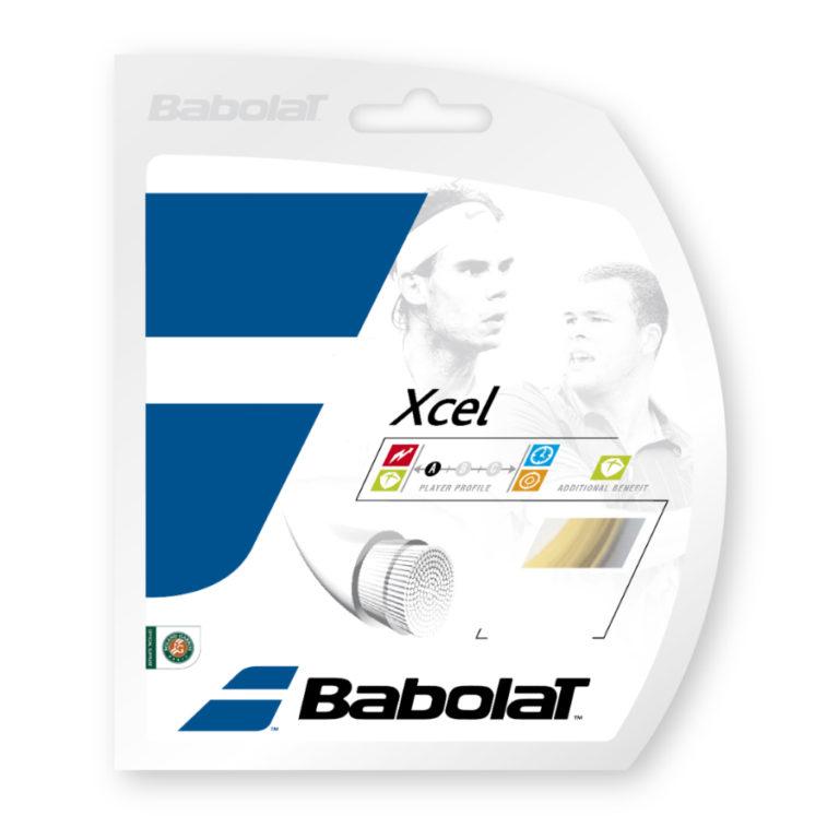 Babolat Xcel Strings 17 – Natural