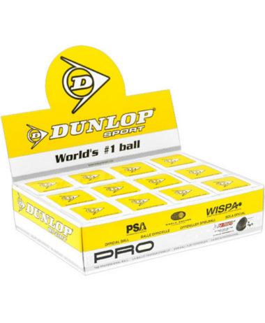 Dunlop Pro 1 ball box (Double Yellow dot)