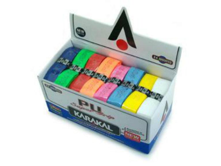 Karakal PU Super Grip Assorted – Box of 24 Grips