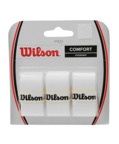 wILSON PRO OVERGRIP WHITE - 3 PACK