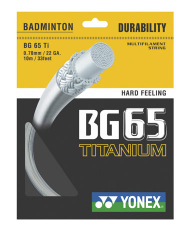 Yonex BG65 Ti 200m reel