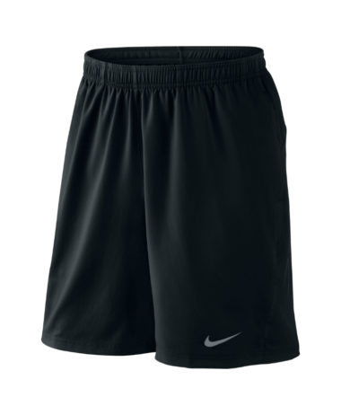 NIKE MEN'S POWER 9 WOVEN SHORT - Black
