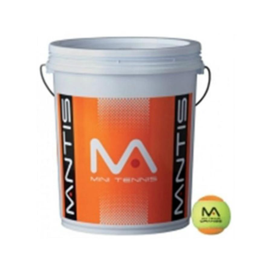 Babolat Mini Racket >> MANTIS MINI ORANGE Tennis Balls - 6 Dozen Bucket (72 balls) - Pure Racket Sport