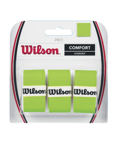 WILSON PRO OVERGRIP BLADE GREEN - 3 PACK