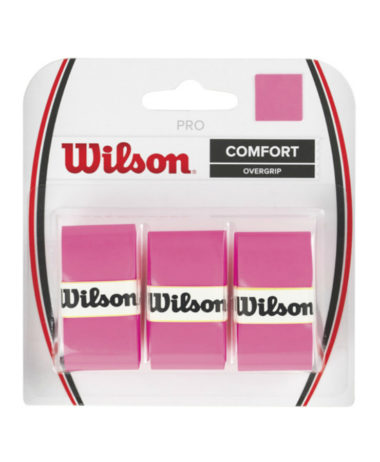 wilson pro overgrip pink 3 pack