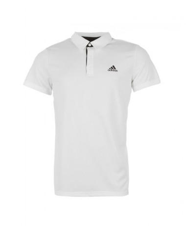 Adidas Mens Fab Polo shirt  white