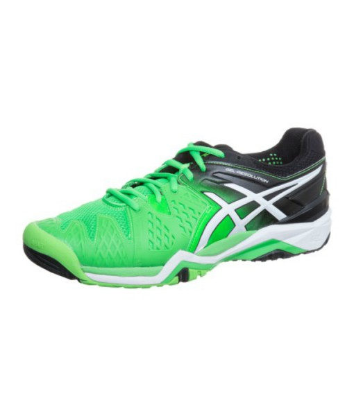 Asics shoes green